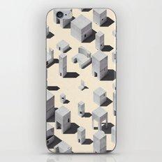 Architecture Blocks iPhone Skin