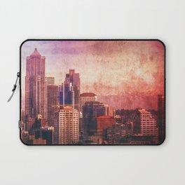 Decode in Downtown Seattle Laptop Sleeve