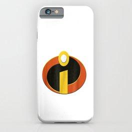 D-isney P-ixar Incredibles Logo Halloween Costume iPhone Case