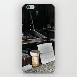 Il grande silenzio (The great silence) iPhone Skin