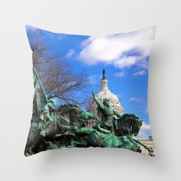 Ulysses S Grant Memorial Throw Pillow
