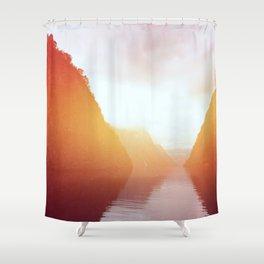 Landscape 08 Shower Curtain
