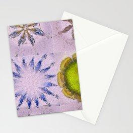 Minimizer Fabric Flowers  ID:16165-003908-98470 Stationery Cards