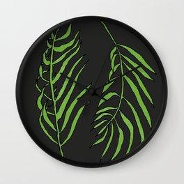 palm simple Wall Clock