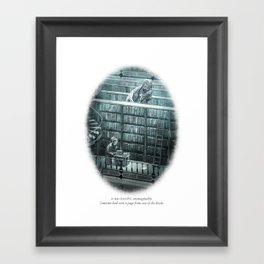 Behind You 65 Framed Art Print