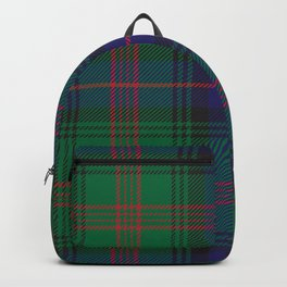 Christmas Classical Plaid Tartan Pattern Backpack