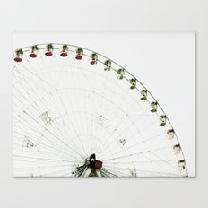Hand Colored Ferris Canvas Print