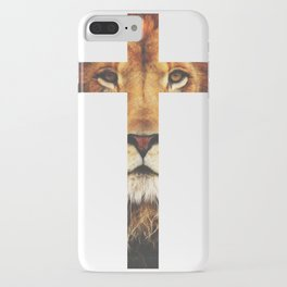 Christian Cross - The Lion of Judah iPhone Case