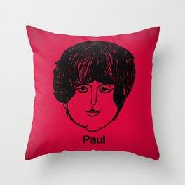 Paul. Throw Pillow