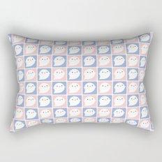 Kawaii Little Ghosts Rectangular Pillow