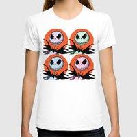 jack skellington T-shirts featuring Jack Skellington Pixel Art by Katersbonneville