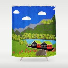 Norway 1 Shower Curtain