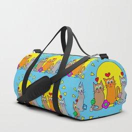 Sunshine Cats Duffle Bag