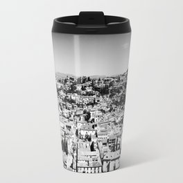 Old Granada rooftops, Andalucia, Spain Travel Mug