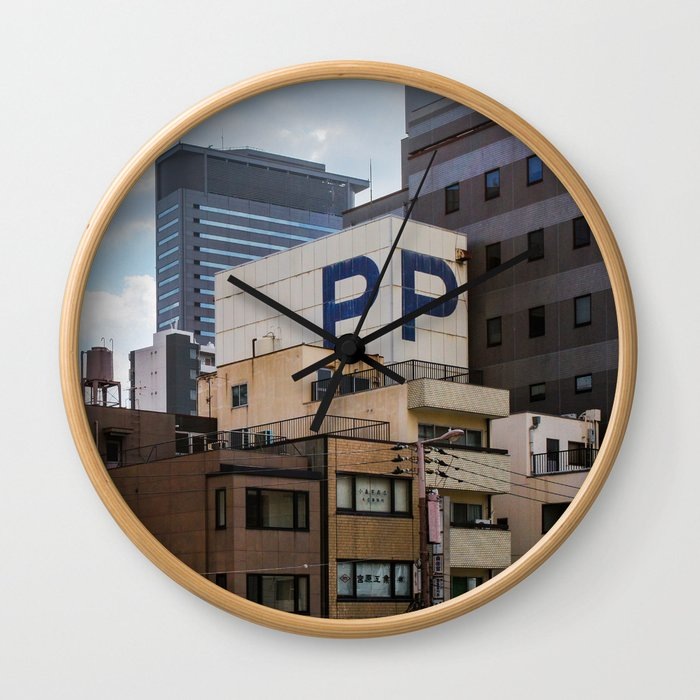 NAMBA, OSAKA Wall Clock