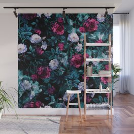 RPE FLORAL ABSTRACT III Wall Mural