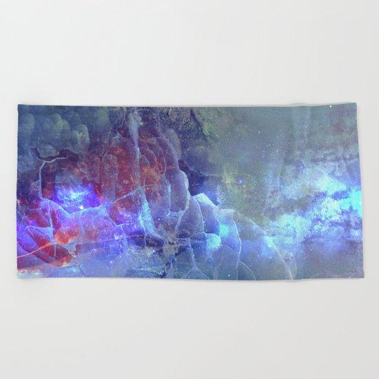 Crystalized Beach Towel