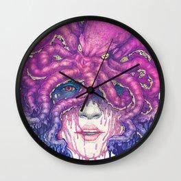 Dark Queen of The Deep Sea Wall Clock