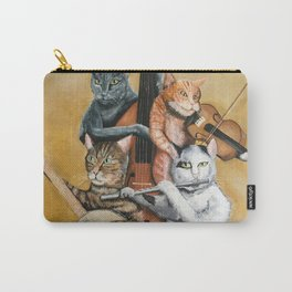 Cat Quartet Carry-All Pouch