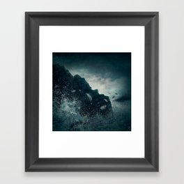 Fallen From Grace Framed Art Print