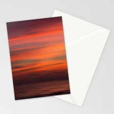 When sun goes down Stationery Cards