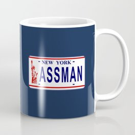 Assman License Plate Coffee Mug