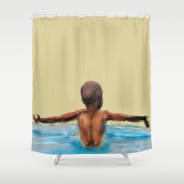 Spread My Wings Shower Curtain