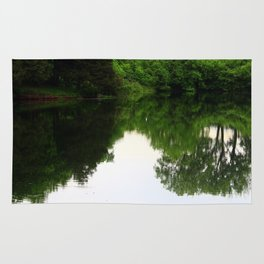 The World in Nature's Mirror Rug