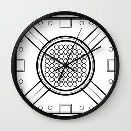 Drop The Base Wall Clock