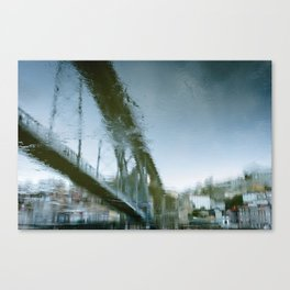 Bridge reflex Canvas Print