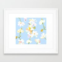 magnolia Framed Art Prints featuring Magnolia by 301F