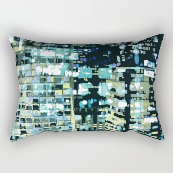 City Never Sleeps 1 Rectangular Pillow