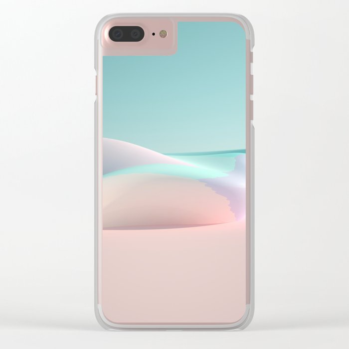 Soft Rock Clear iPhone Case