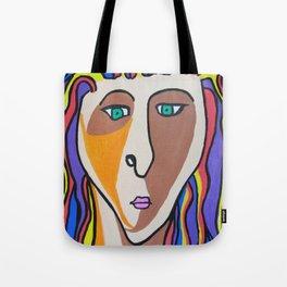 Janie Selfie Tote Bag