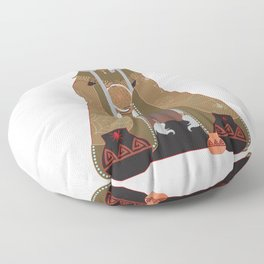 Grandmother Spider Floor Pillow