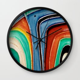 The Kandinsky's Chubby Bird 1 Wall Clock
