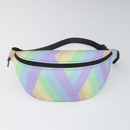 """Rainbow shine"" geometrical minimal art Fanny Pack"