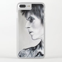 Ziggy Played Guitar Clear iPhone Case