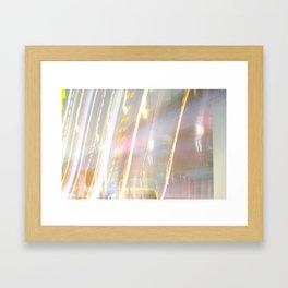 光に濡れる Framed Art Print