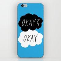 okay iPhone & iPod Skins featuring Okay? Okay by Lola