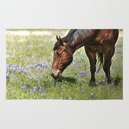 Don't Eat The Bluebonnets Rug