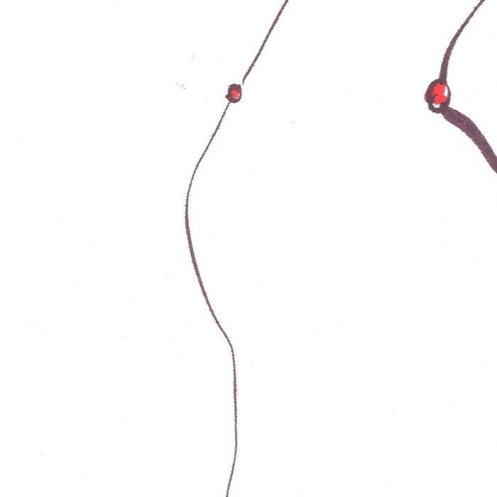 Nodules 8   Line Art Drawings Leggings