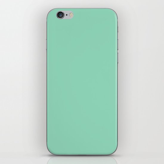 Mint Green iPhone & iPod Skin