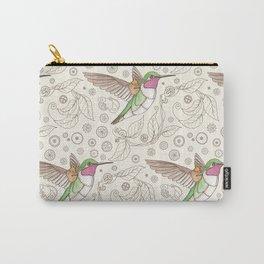 Clockwork Hummingbird Carry-All Pouch