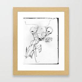 Snoop Mantis// Framed Art Print