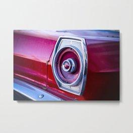 Tail Light. Metal Print