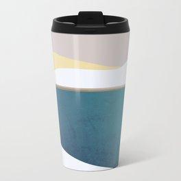 Abstract 32 Metal Travel Mug