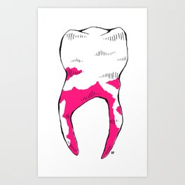 Tooth Art Print