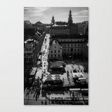 Slussen Canvas Print
