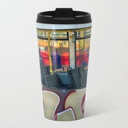 Departure with Ghosts Metal Travel Mug